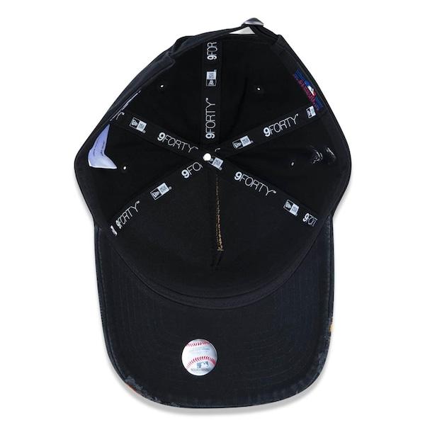 d9f4b1ee0bb4b Boné Aba Curva New Era 940 MLB New York Yankees 44747 - Strapback - Adulto