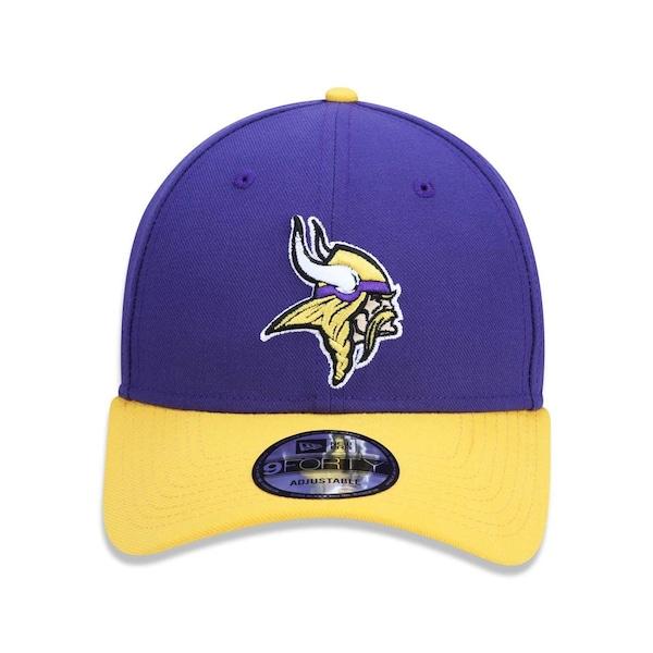 66858d456032e Boné Aba Curva New Era 940 NFL Minnesota Vikings 42175 - Snapback - Adulto