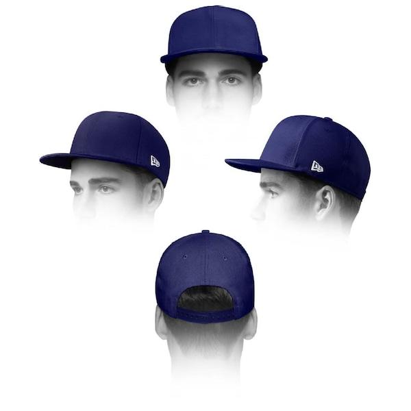 4e3816542 Boné Aba Reta New Era 950 Original Fit MLB Los Angeles Dodgers 39907 -  Strapback- Adulto
