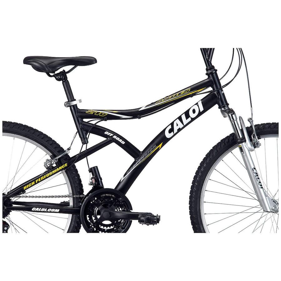... Bicicleta Caloi Andes - Aro 26 - Freio V-Brake - Câmbio Caloi - 21 dabfa247419b8