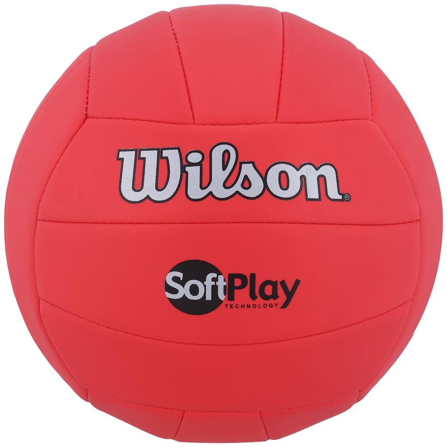 6a56cc7f2 Bola de Vôlei Wilson Soft Play Technology