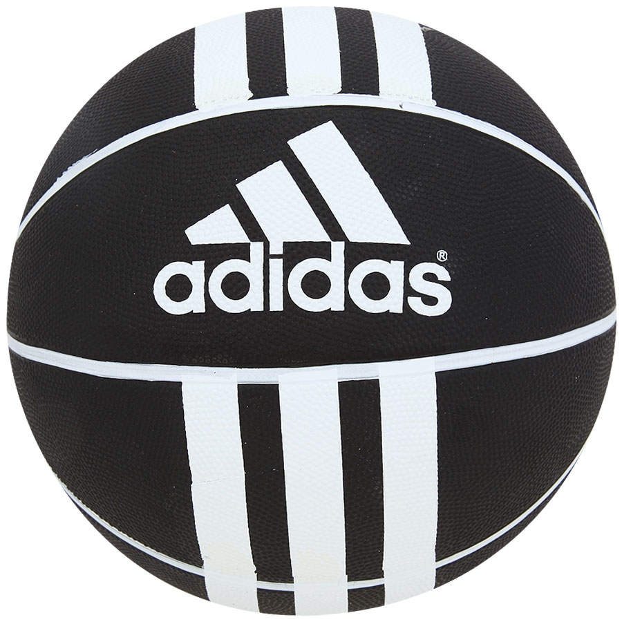c1a02513f40 Bola de Basquete adidas 3 Stripes Rubber X