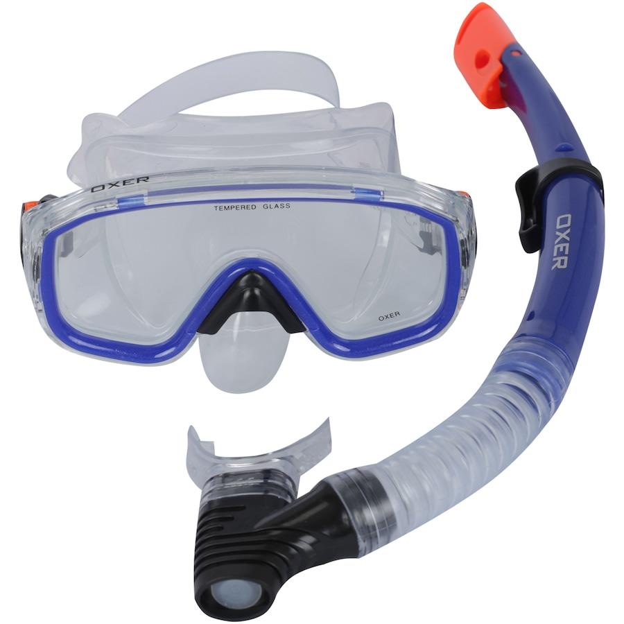 Kit de Mergulho  Snorkel e Máscara de Mergulho Oxer Argus - Adulto 957d36f4f4e
