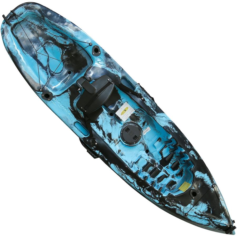 2376bf9ae Caiaque de Pesca com 1 Remo Caiaker Fishing