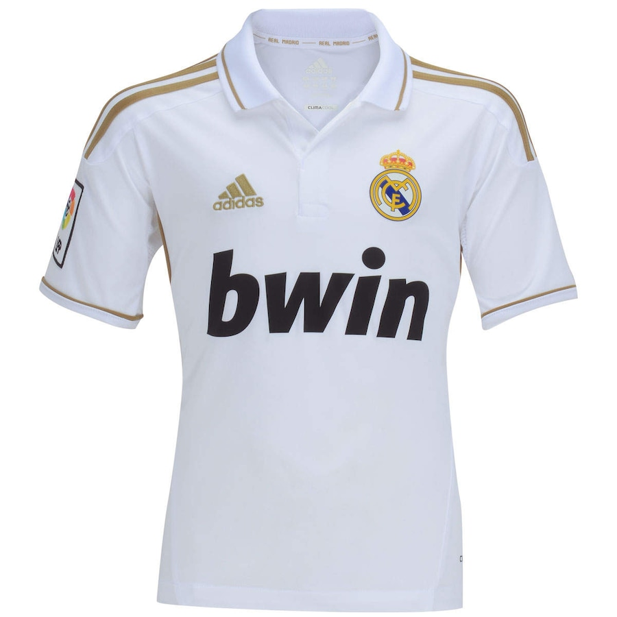 Camisa adidas Real Madrid I - Infantil 1f090a7e52ad8