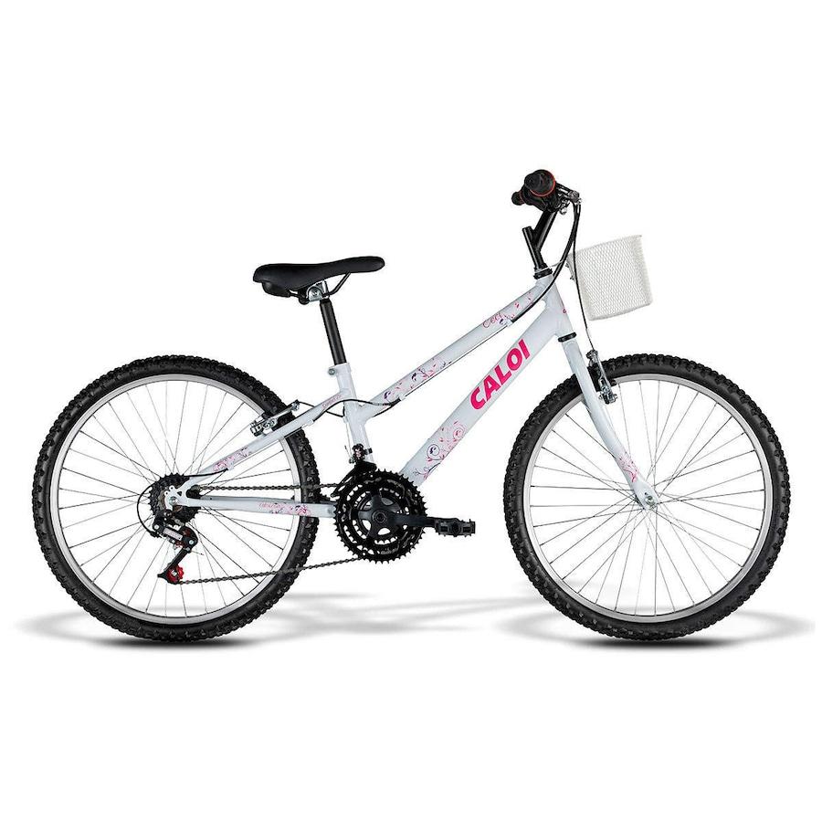 Bicicleta Caloi Ceci - Aro 24 - Com Cestinha - Feminina 0f741a7d229e2