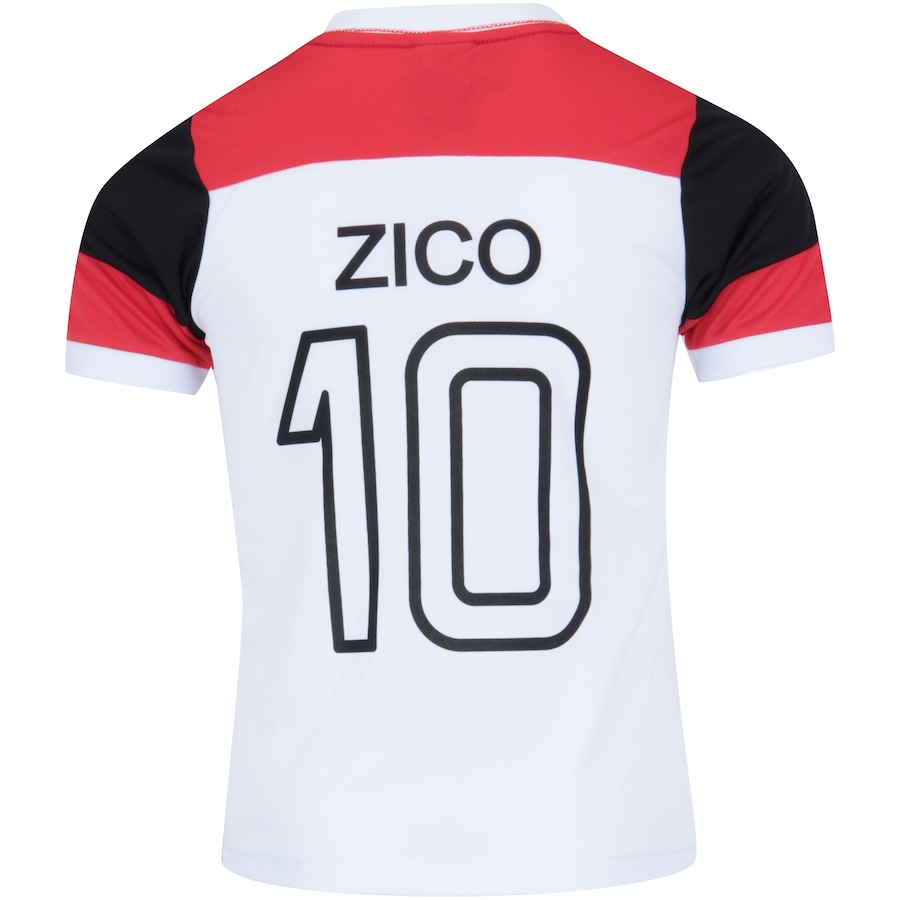 Camiseta do Flamengo Zico nº 10 - Infantil be41c38fc3ee6