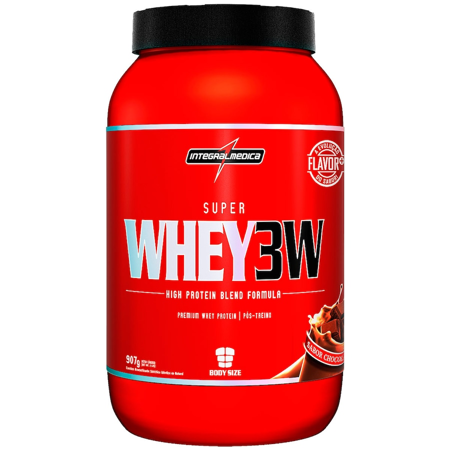 daaddcf334 Whey Protein 3W Integralmédica Super Whey 3W - Chocolate -