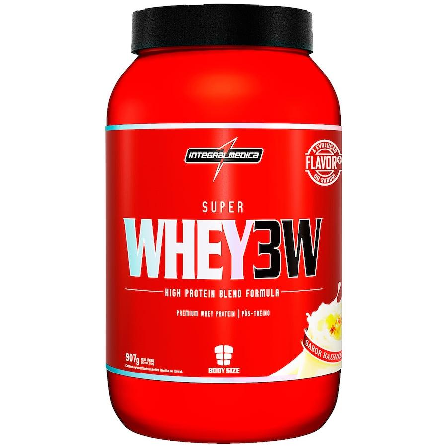 Whey Protein Integralmédica Baunilha 3W Super - 907g