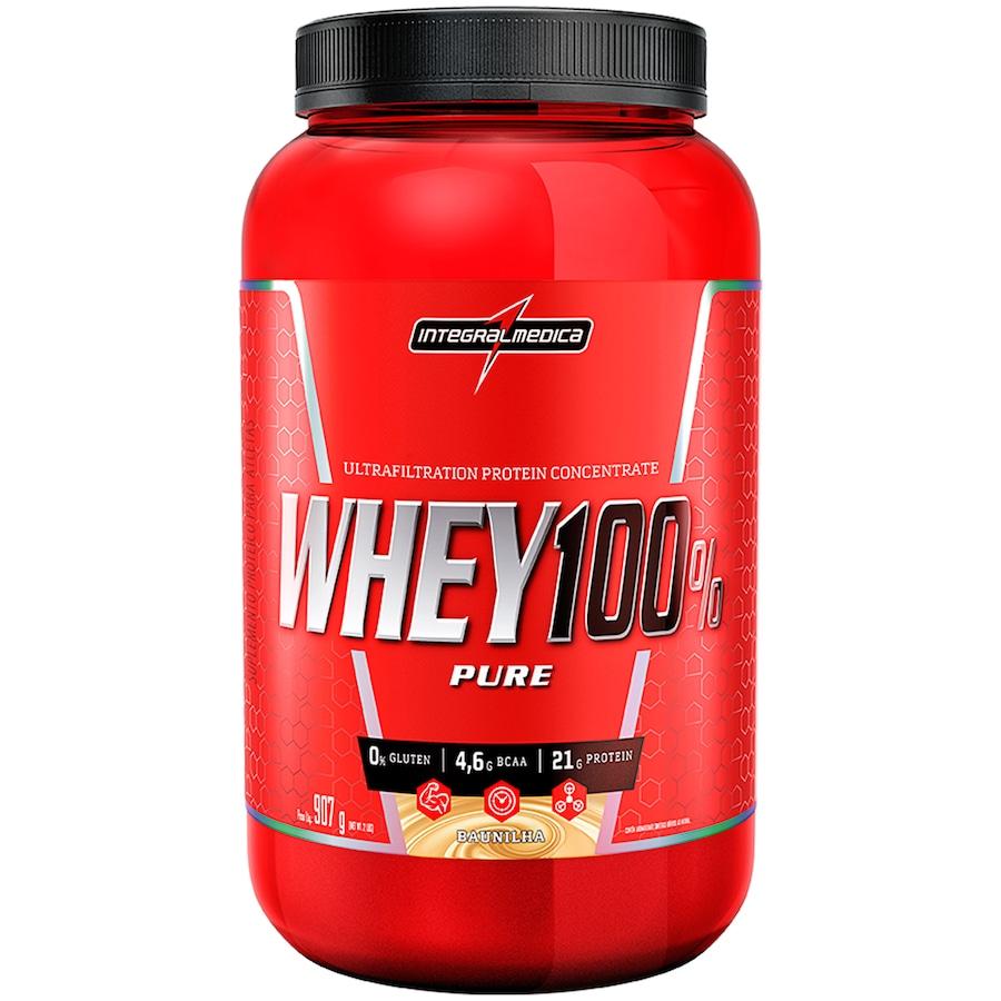 5f1c45bae Whey Protein Integralmédica Super Whey 100% Pure - Baunilha