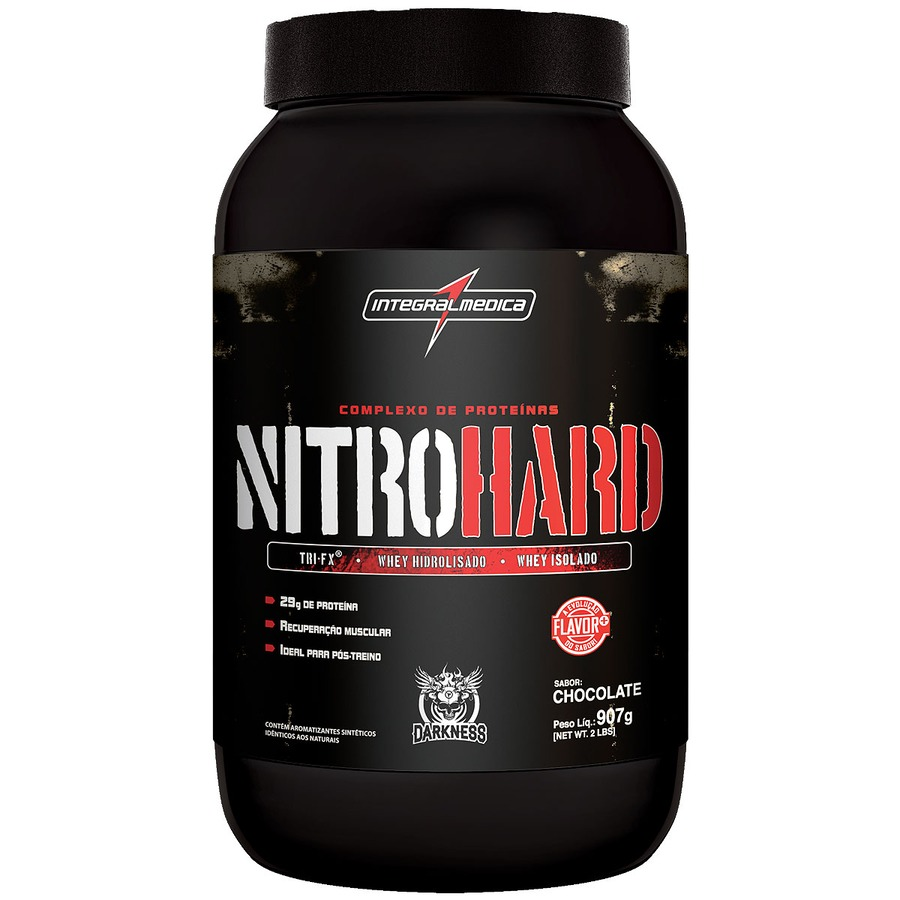 Whey Protein Integralmédica NitroHard - Chocolate - 907g
