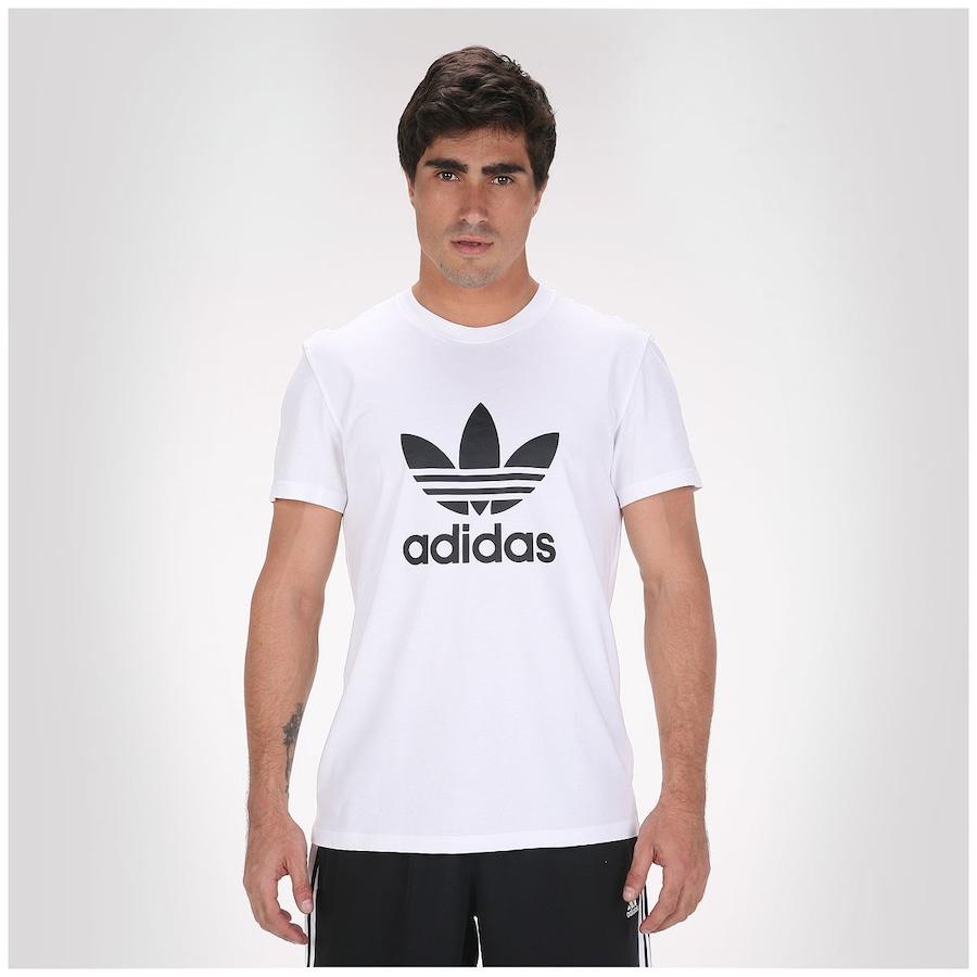 5610d641939 Camiseta Adidas Trefoil Masculina