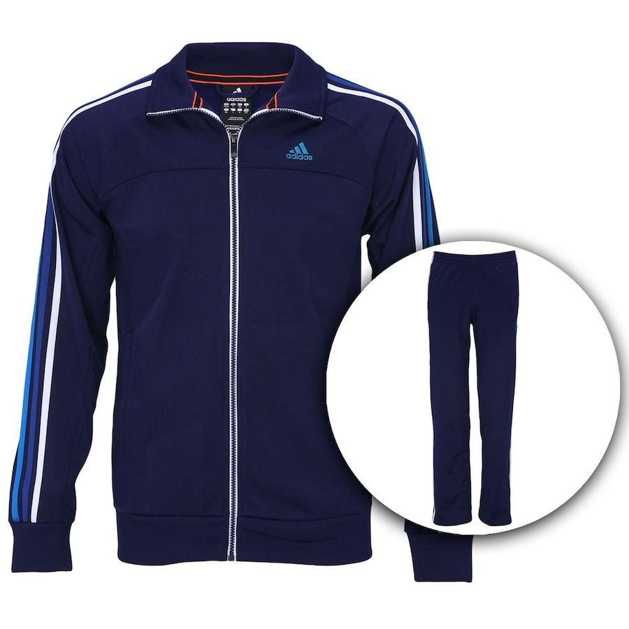 Agasalho Adidas 3S ec665fded570d