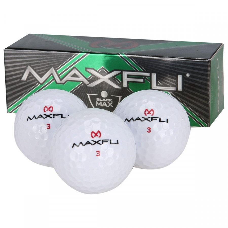Bola de Golf Maxfli Black Max ccabfb6fcf042