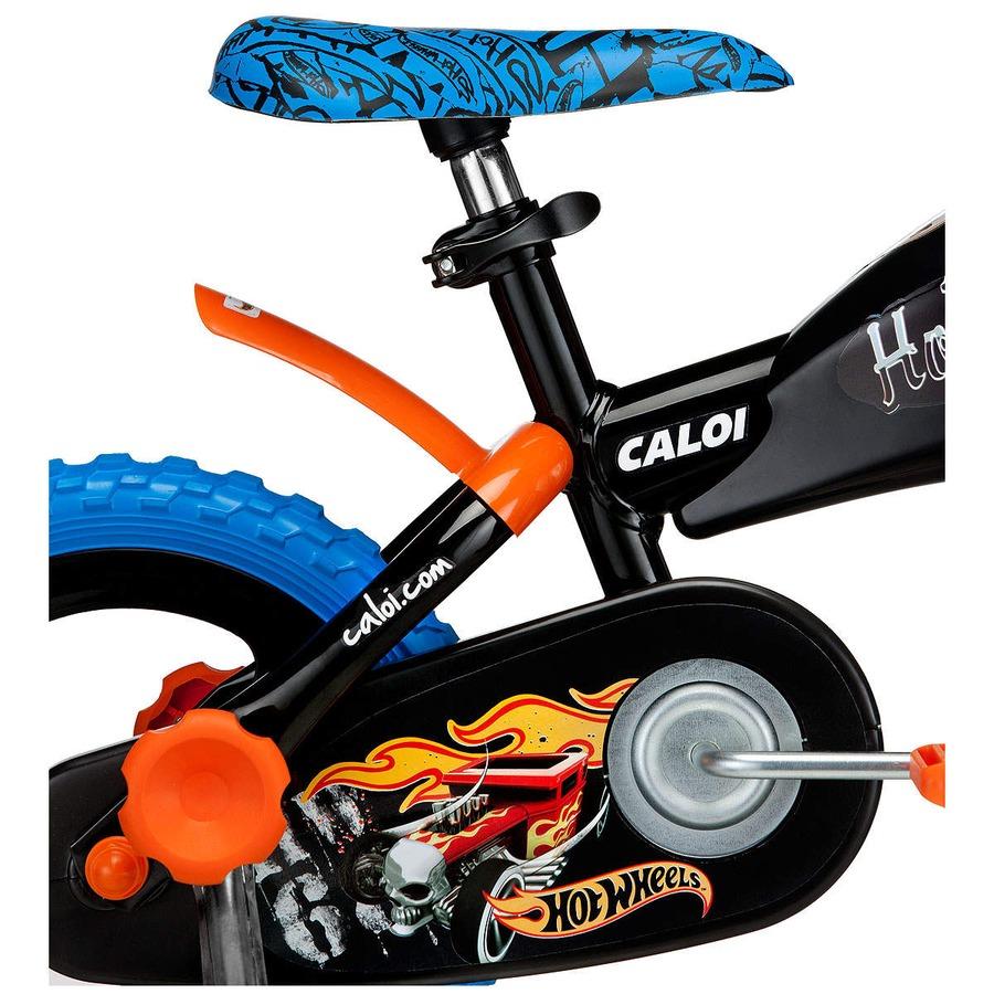 3b3c1fab1 Bicicleta Caloi Hot Wheels - Aro 12 Infantil