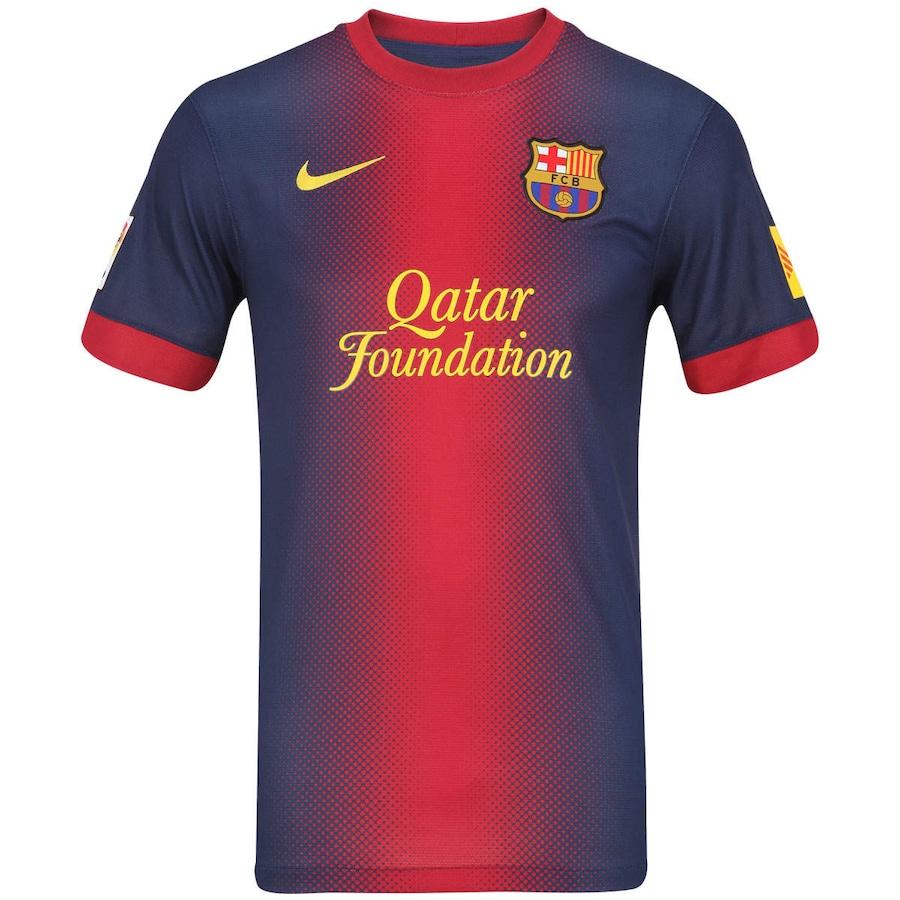 8a064152ef Camisa Nike Barcelona 2012   2013