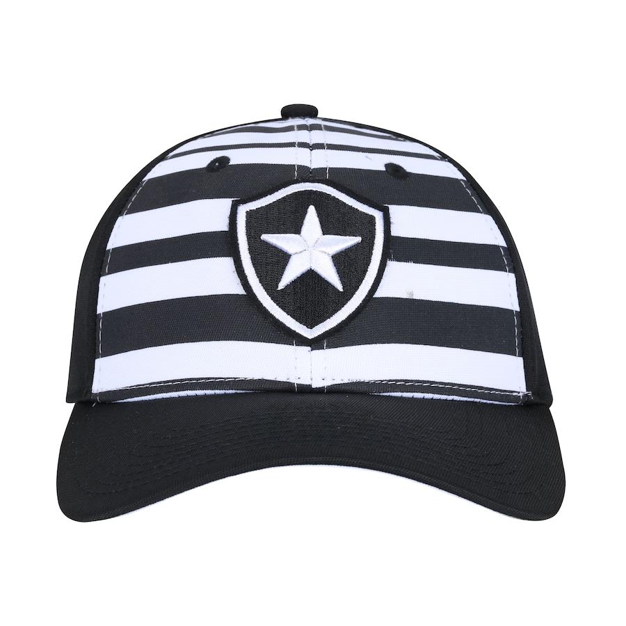 996bc32d8eb3d Boné Aba Curva do Botafogo New Era 940 - Strapback - Adulto