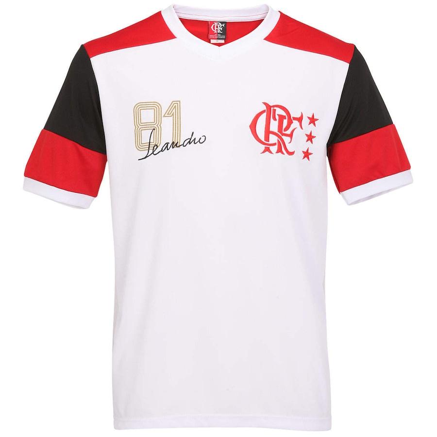 e48ddaece2 Camiseta Braziline Flamengo Retro Leandro ¿ Masculina