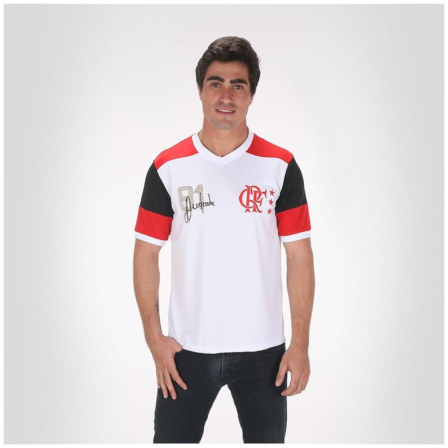 75f262cc63 ... Camiseta Braziline Flamengo Retrô Andrade - Masculina ...