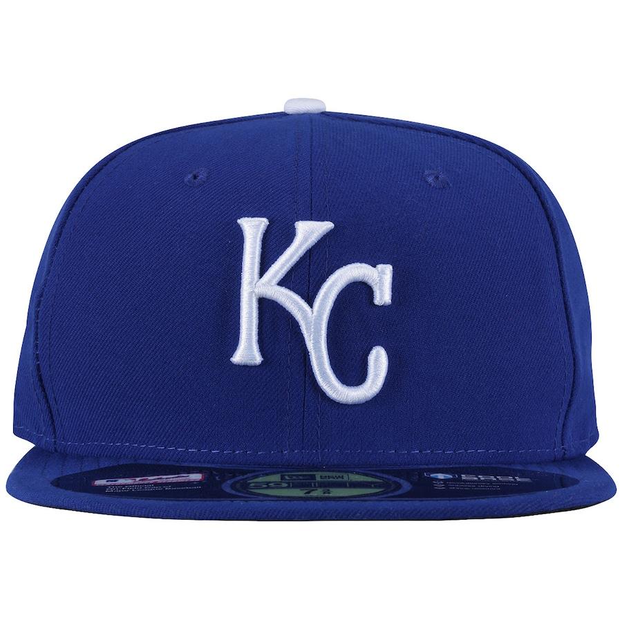 Boné Aba Reta New Era Kansas City Royals - Fechado - Adulto 88f05214922