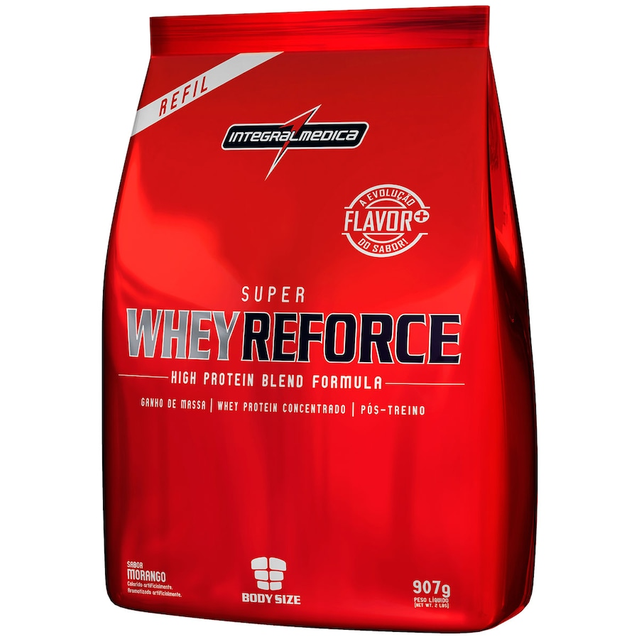 dfea797b0b Whey Protein Integralmédica Super Whey Reforce - Refil 907g