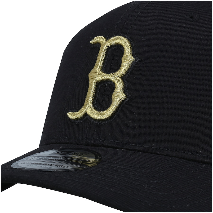24ce9c450427c Boné New Era Logo Boston Red Sox MLB - Fechado - Adulto