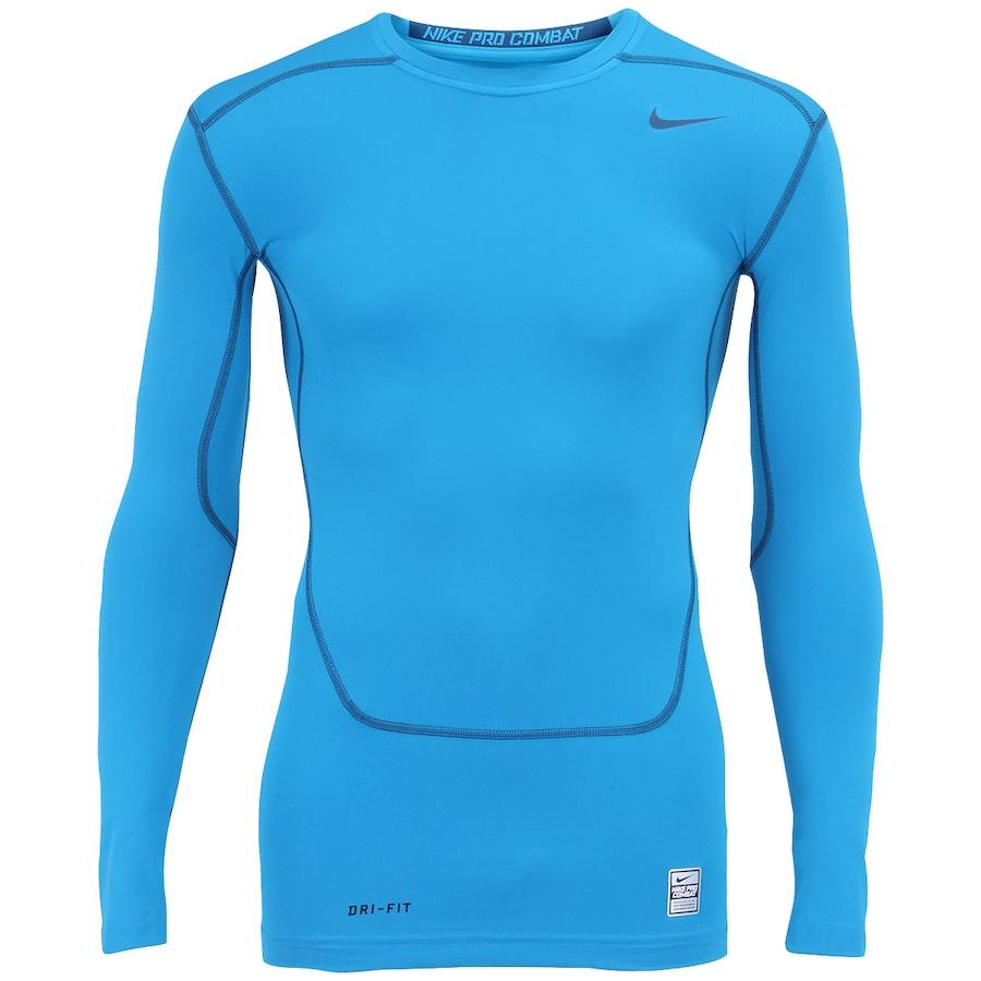Camisa de Compressão Manga Longa Nike Core Top2 - Masculina fc2f7ca63c7b8