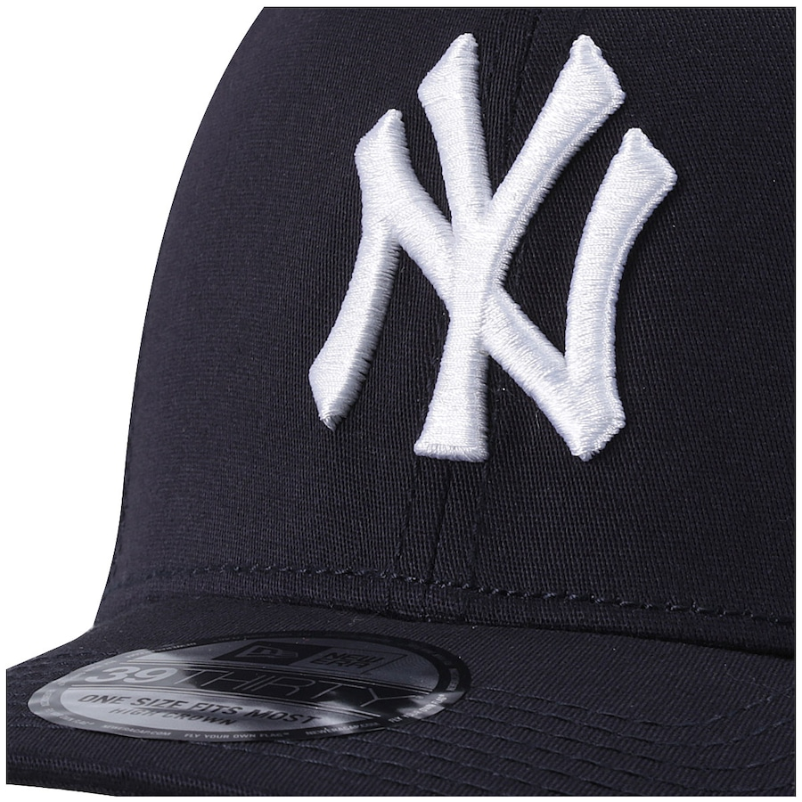 Boné New Era New York Yankees Logo NY - Fechado - Adulto 499c289d6d3