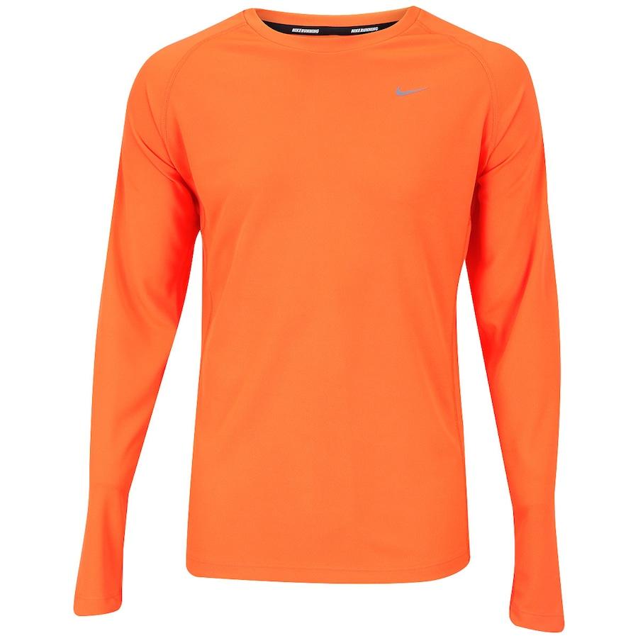Camiseta Manga Longa Nike Miler Ls Uv - Masculina bd1357b8e100d