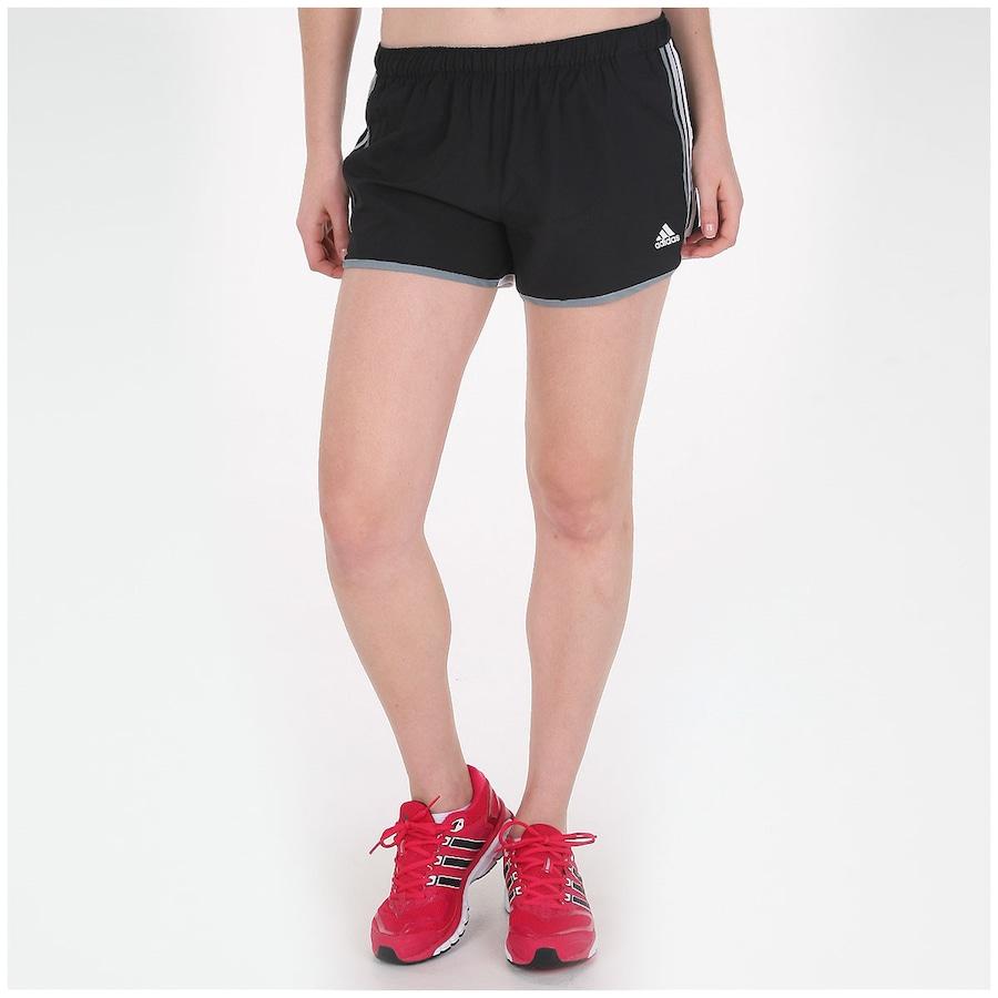 Short adidas Marathon 10 Feminino 45ef5c5886a20