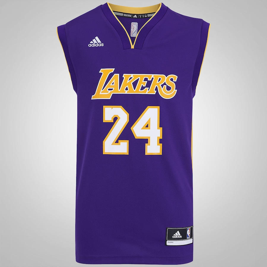 8d2b1a6b2a Camiseta Regata adidas NBA Lakers Road Bryant - Masculina
