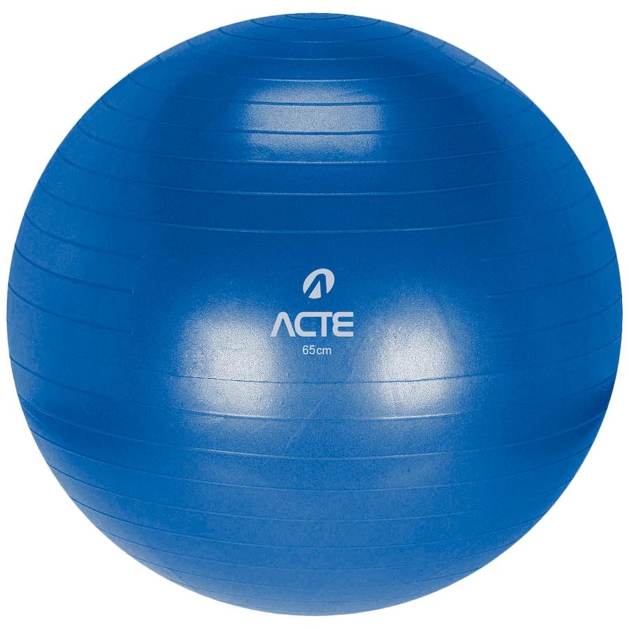 Bola de Pilates Suíça Acte Sports com Bomba de Ar - 65cm ffc14d6e4f78f