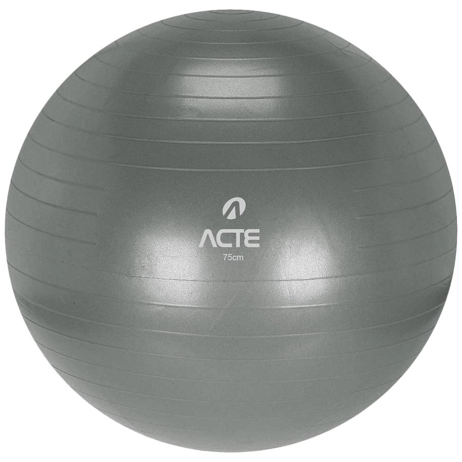 Bola de Pilates Acte Sports com Bomba de Ar - 75cm 0b95ad15a79a5