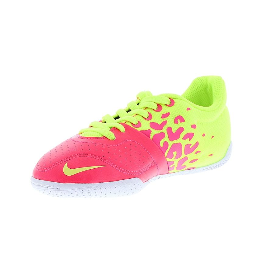 Chuteira de Futsal Nike 5 Elástico II Infantil 0d2ad2783d1