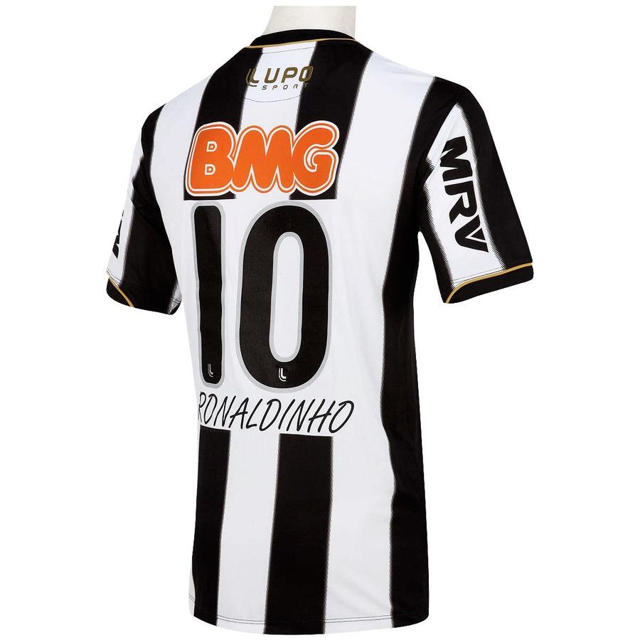 Camisa Lupo Atlético Mineiro I 2013 nº 10 – Ronaldinho 0d5614f9140fc