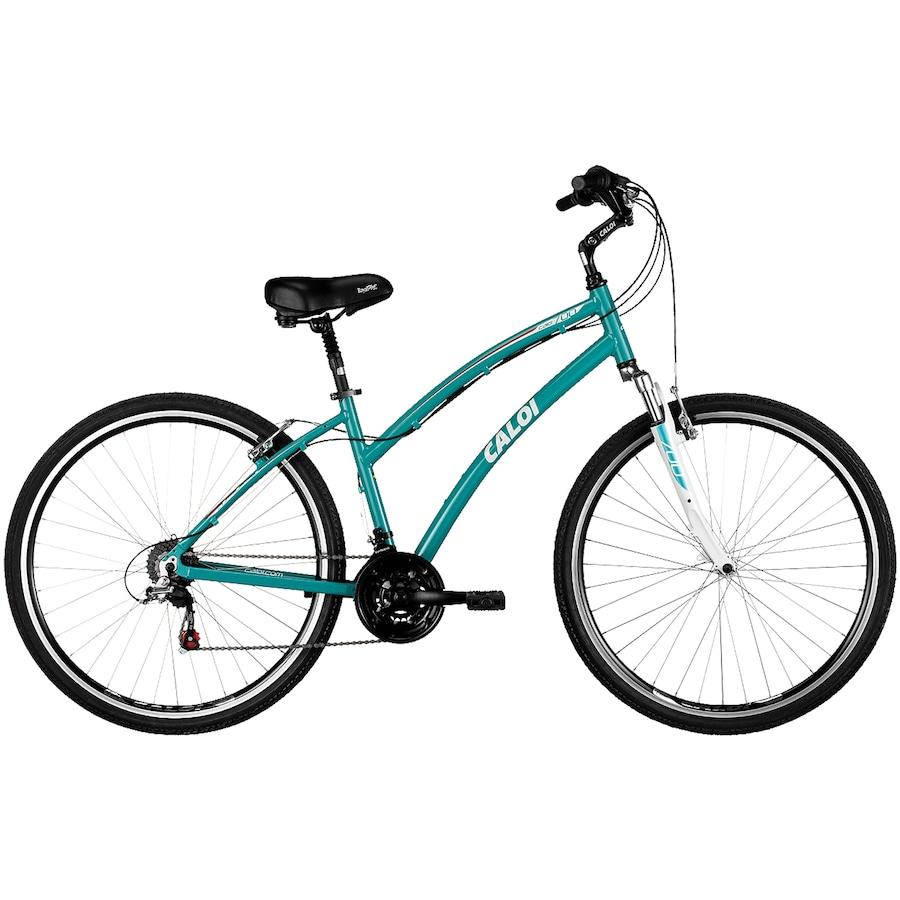 0e49aad9d Bicicleta Caloi 700 - Aro 700 - 21 Marchas Feminina