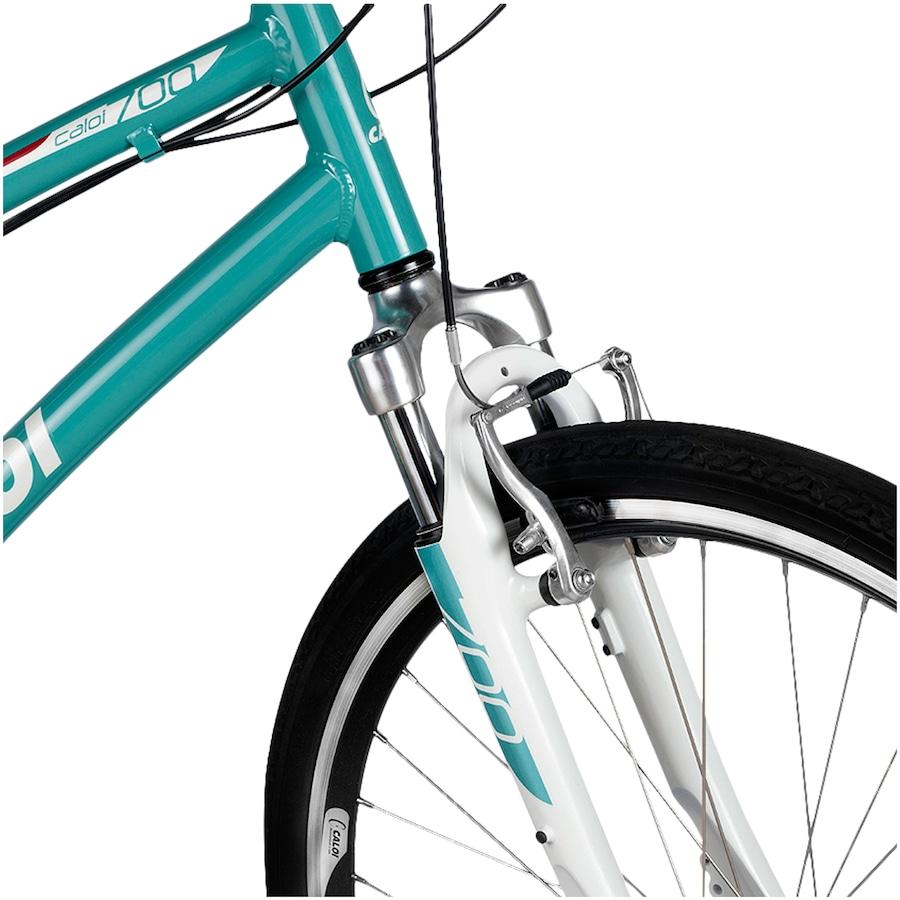 0b8081abe ... Bicicleta Caloi 700 - Aro 700 - Freio V-Brake - Câmbio Traseiro Shimano  ...