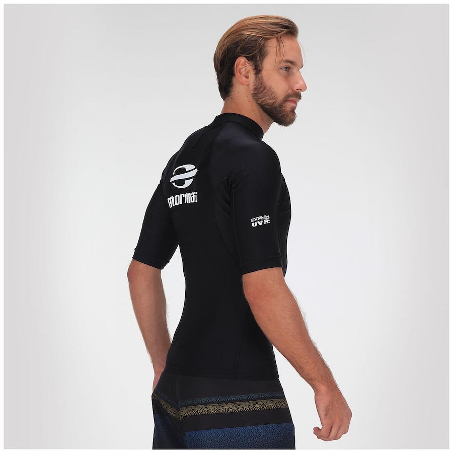 b58a0d3989 ... Camisa de Surf de Lycra com Proteção Solar UV50+ Mormaii S507EXT -  Masculina ...