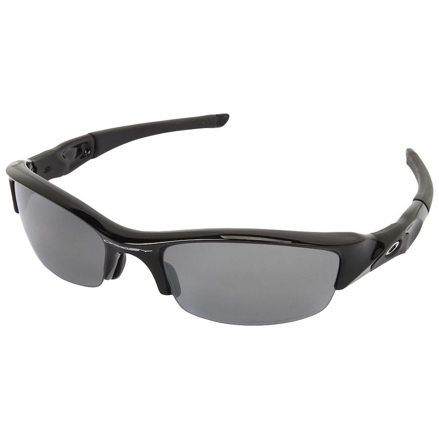 6f67cf957 Óculos de Sol Oakley Flak Jacket Polarizado 12900 - Unissex