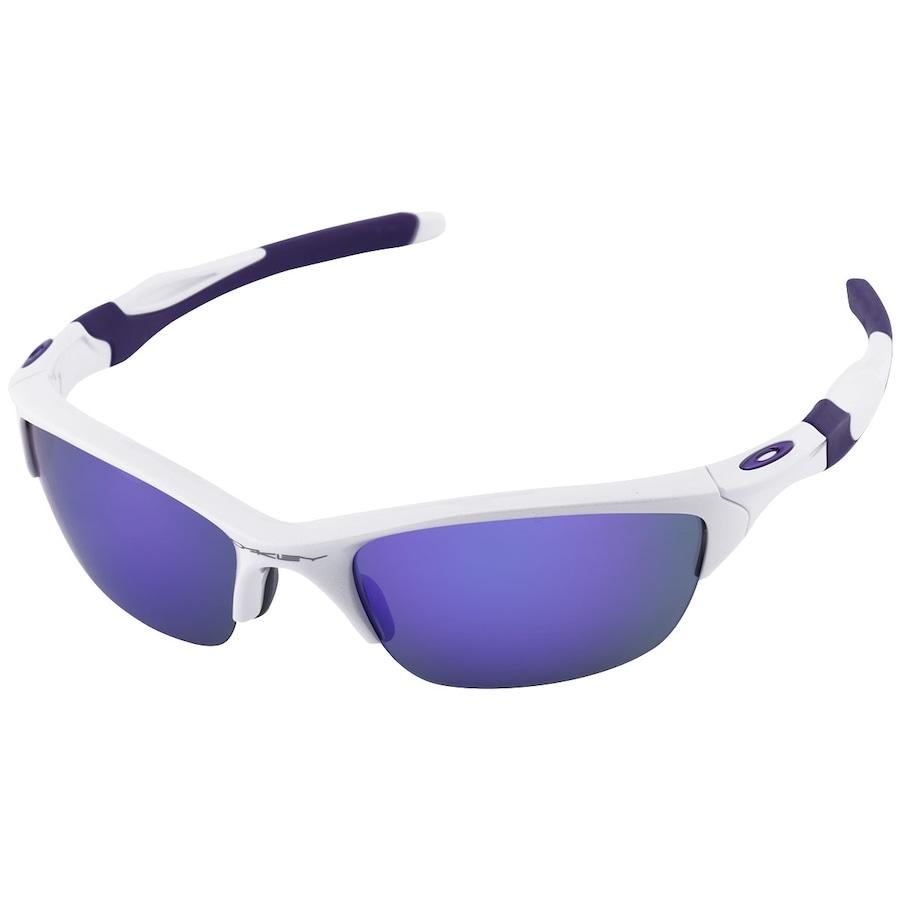 1ca83a388eea4 Óculos de Sol Oakley Half Jacket 2.0 Proteção UVA UVB UVC