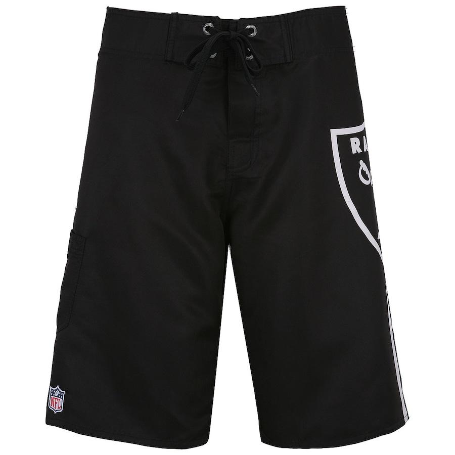 0f80311303b Bermuda New Era Oakland Raiders Masculina