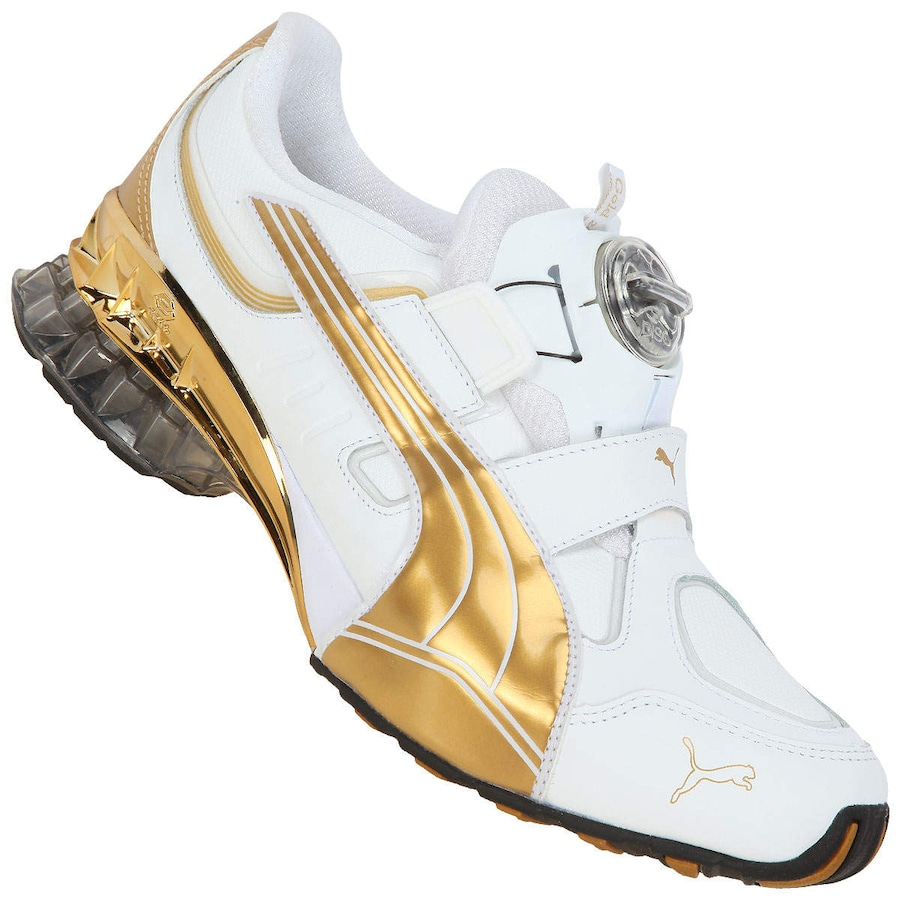 f8f7058a8cb Tênis Puma Celll Aether 2.0 Gold Masculino