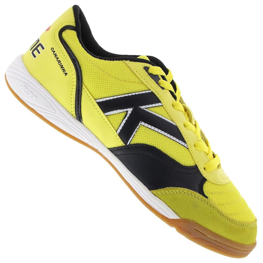 Chuteira de Futsal Kelme Canarinha Indoor - Adulto c737446f3a178