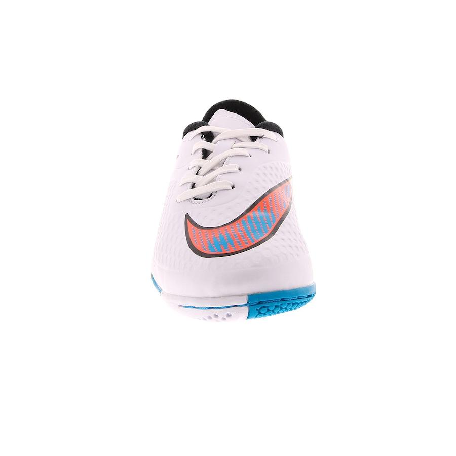 ... Chuteira de Futsal Nike Hypervenom Phelon IC - Infantil ... 70de12d23d5a6