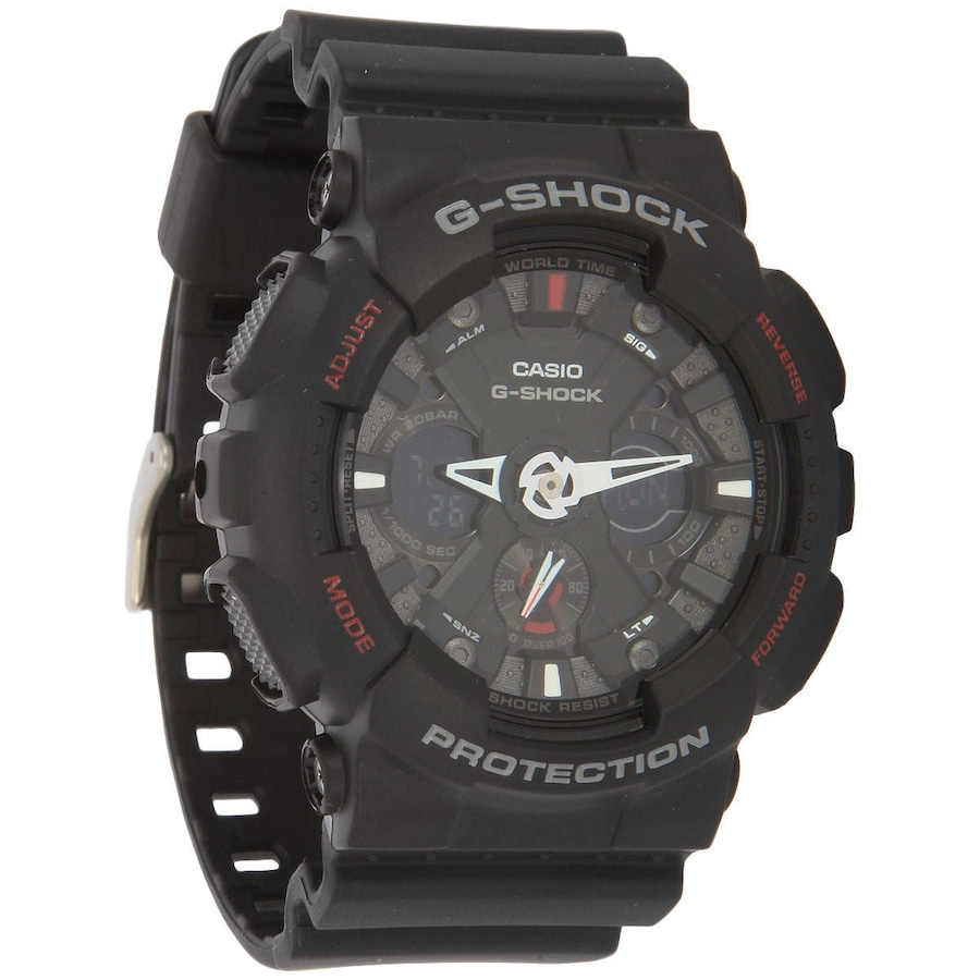 3b33bf9e1d1 Relógio Analógio Digital Casio G-Shock GA-120 - Unissex