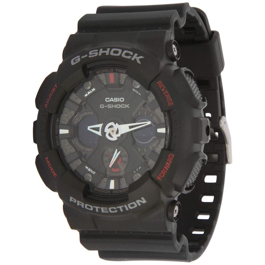 cfb50e62433 Relógio Analógio Digital Casio G-Shock GA-120 - Unissex