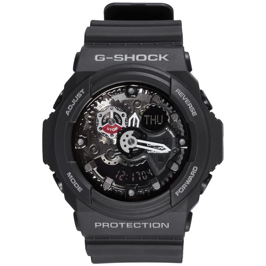 61c831de95d Relógio Digital Analógico Casio G-Shock GA-300 - Unissex