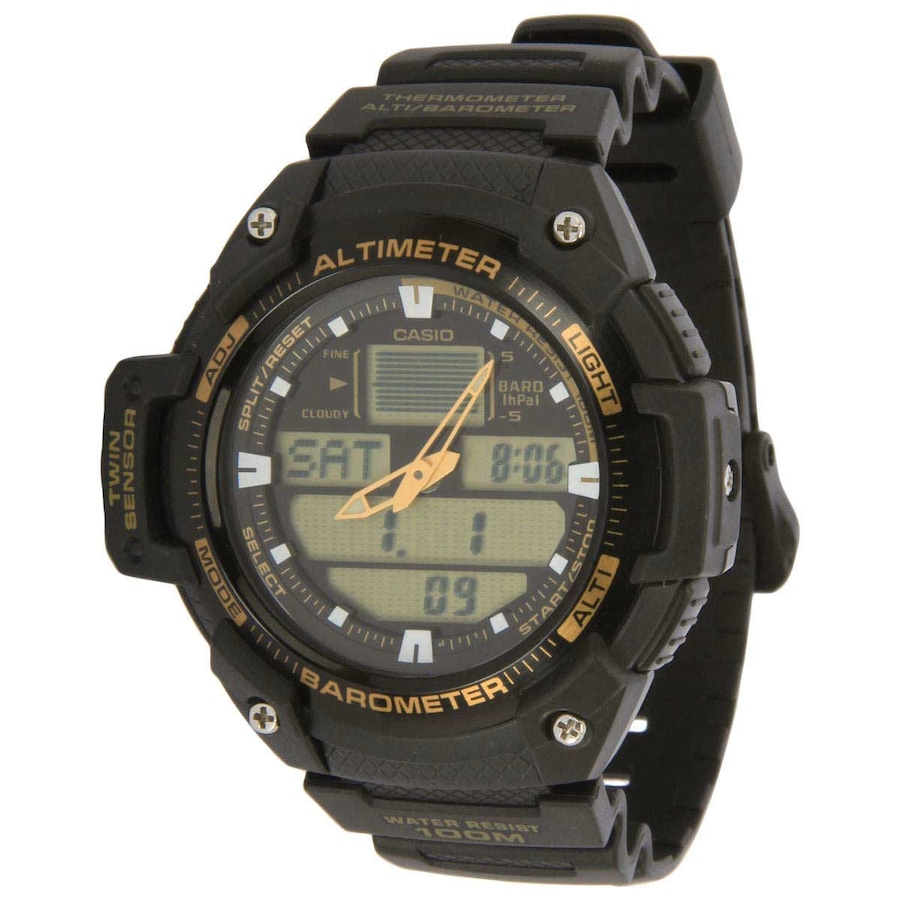 ed46776d2b2 Relógio Masculino Analógico e Digital Casio SGW-400H