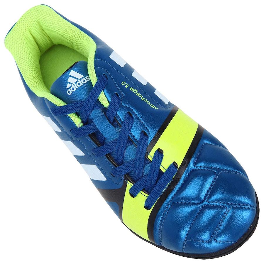 Chuteira Society Adidas Nitrocharge 3.0 TRX TF Infantil 4217eea947ff6