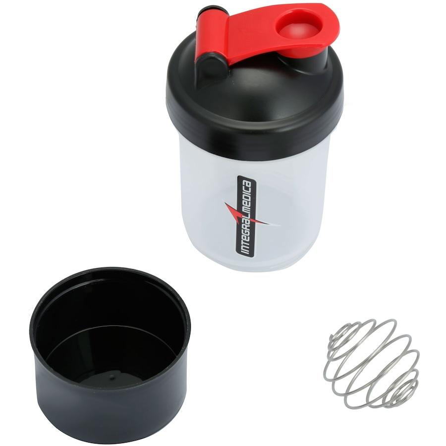 3aec12ab61 Coqueteleira Shaker Integralmédica - 400ml - 2 Doses